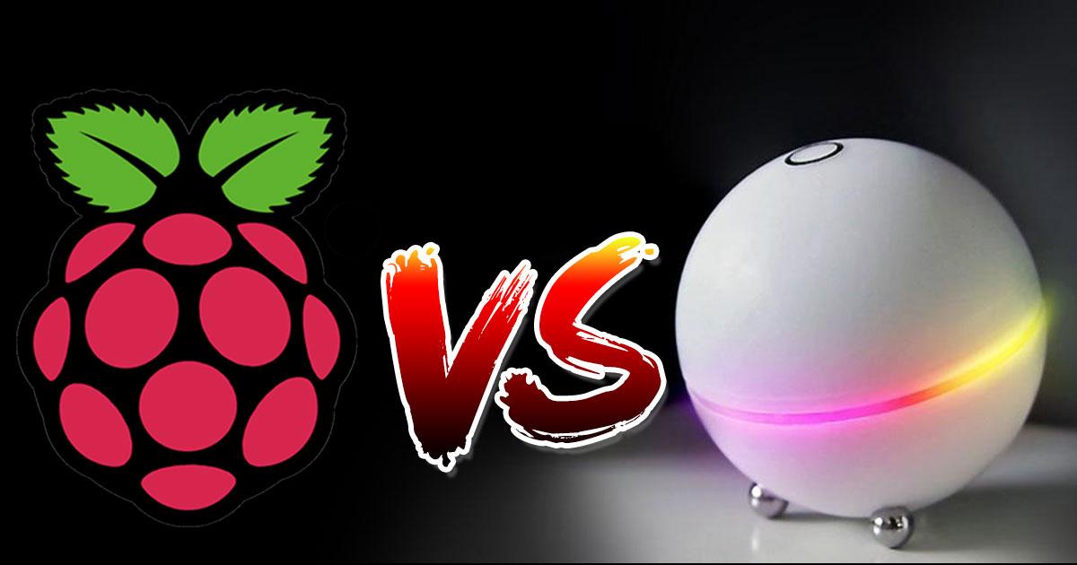 Raspberry vs Homey